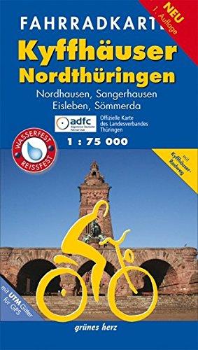 9783866360891: Kyffhäuser - Nordthüringen Fahrradkarte 1 : 75 000: Nordhausen, Sangerhausen, Eisleben, Sömmerda