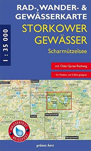 9783866361034: RWG-Karte Storkower Gewässer - Scharmützelsee