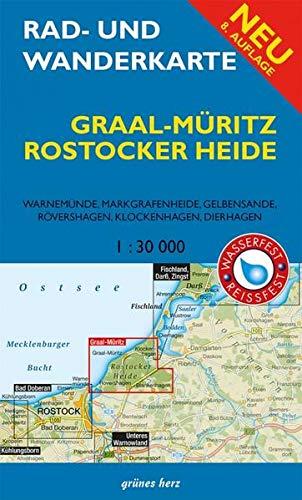 9783866362185: Graal-Müritz, Rostocker Heide 1 : 30 000 Rad- und Wanderkarte: Mit Warnemünde, Markgrafenheide, Gelbensande, Rövershagen, Klockenhagen, Dierhagen