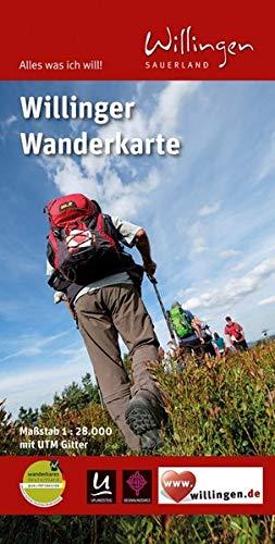 9783866369122: Willingen Wanderkarte 1 : 28 000: mit UTM-Gitter. Alles was ich will - Willingen Sauerland