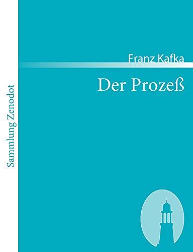 9783866402799: Der Prozeß (Sammlung Zenodot) (German Edition)