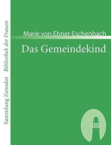 9783866403055: Das Gemeindekind (Sammlung Zenodot\Bibliothek Der Frauen) (German Edition)