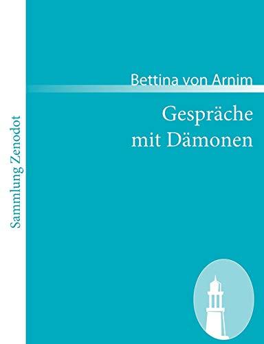 9783866404489: Gespr Che Mit D Monen (Sammlung Zenodot) (German Edition)