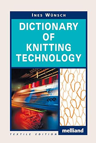 9783866411654: Dictionary of Knitting Technology