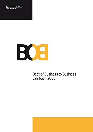 9783866412156: BoB Jahrbuch 2008: Best of Business-to-Business 2