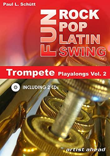 9783866420014: Rock Pop Latin Swing Fun: Trompete Playalongs Vol. 2