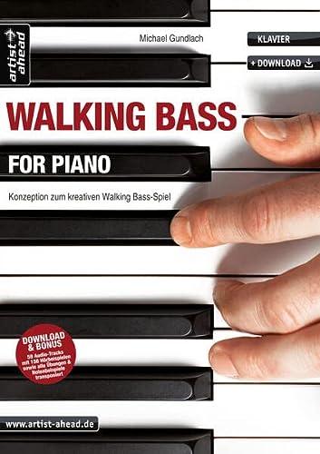 9783866420274: Walking Bass for Piano
