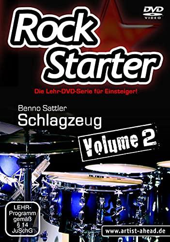 9783866420465: Rockstarter Vol. 2 - Schlagzeug: Der zweite Teil der Lehr-DVD-Serie für Einsteiger! Schlagzeugschule. Unterricht für Anfänger. Drums. Training. School Of Rock. [Alemania]