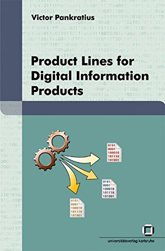9783866441330: Product lines for digital information products