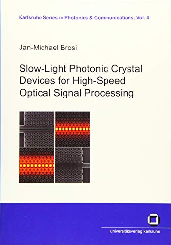 9783866443136: Slow-light Photonic Crystal Devices for High-Speed Optical Signal Processing