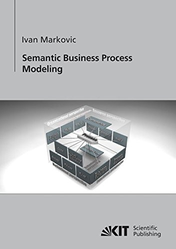 9783866445574: Semantic Business Process Modeling