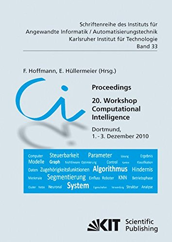 9783866445802: Proceedings - 20. Workshop Computational Intelligence: Dortmund, 1. - 3. Dezember 2010