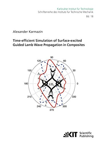 9783866449350: Time-efficient Simulation of Surface-excited Guided Lamb Wave Propagation in Composites (Schriftenreihe des Instituts fuer Technische Mechanik, Karlsruher Institut fuer Technologie) (Volume 18)