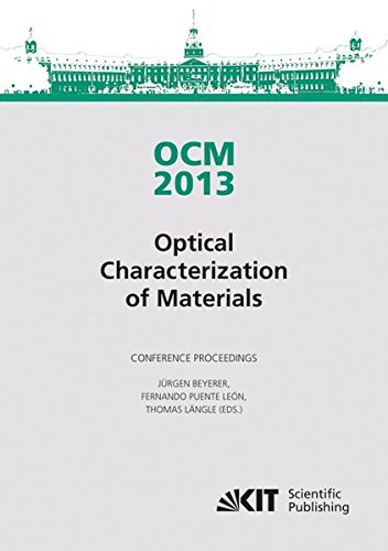 9783866449657: OCM 2013 - Optical Characterization of Materials : Conference Proceedings