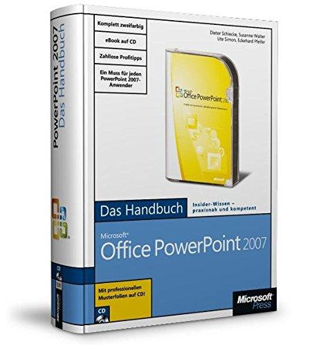 9783866451056: Microsoft Office PowerPoint 2007 - Das Handbuch: Das ganze Softwarewissen