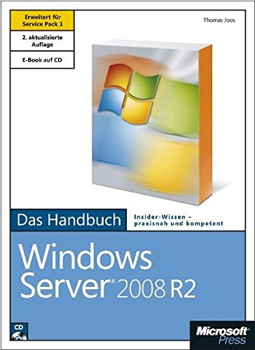 9783866451391: Microsoft Windows Server 2008 R2 - Das Handbuch