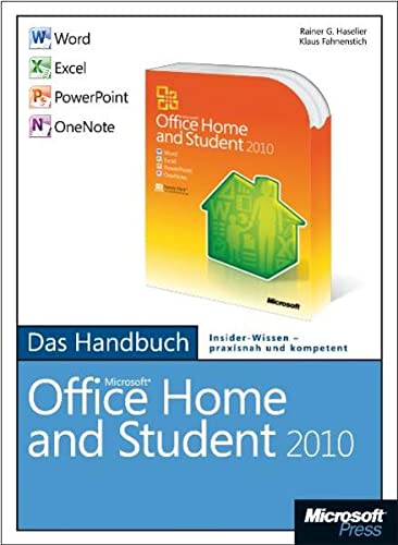 9783866451490: Microsoft Office Home and Student 2010 - Das Handbuch: Word, Excel, PowerPoint, OneNote