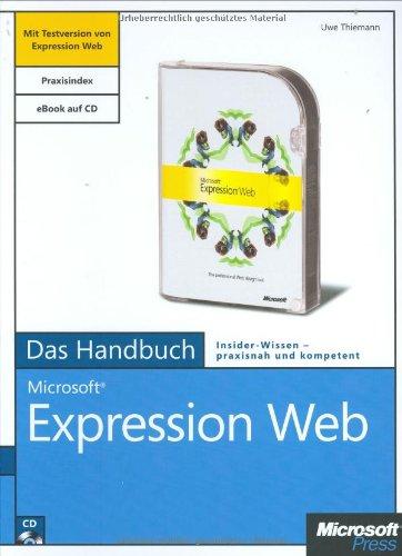 9783866454057: Microsoft Expression Web Designer - Das Handbuch