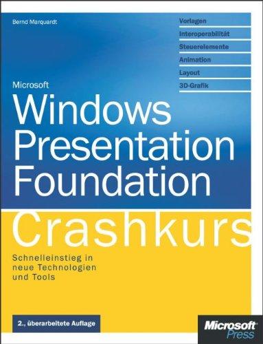 9783866455535: Windows Presentation Foundation - Crashkurs