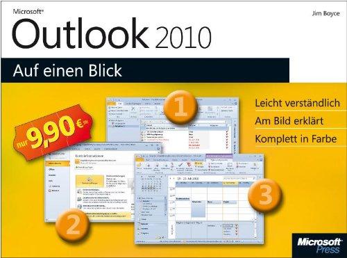 9783866458741: Microsoft Outlook 2010 auf einen Blick: Leicht verst�ndlich. Am Bild erkl�rt. Komplett in Farbe