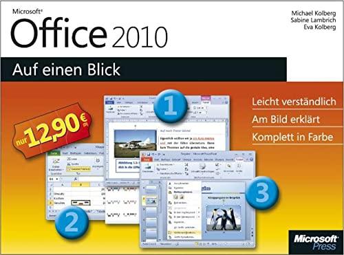 9783866458758: Microsoft Office 2010 - Auf einen Blick