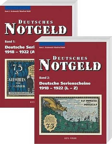 9783866465183: Deutsche Serienscheine 1918 - 1922, Band 1 und 2