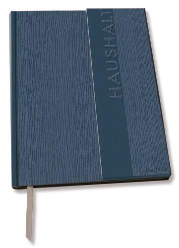 9783866471306: Blank Book / Einschreibebuch - Haushaltsbuch