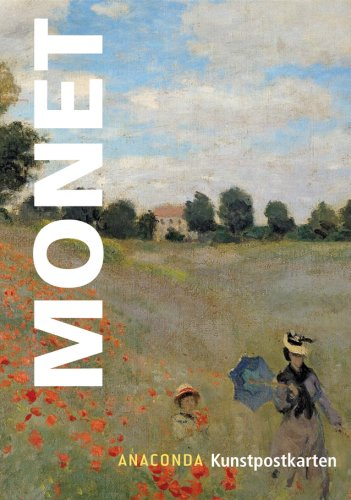 9783866473416: Monet, Kunstpostkarten