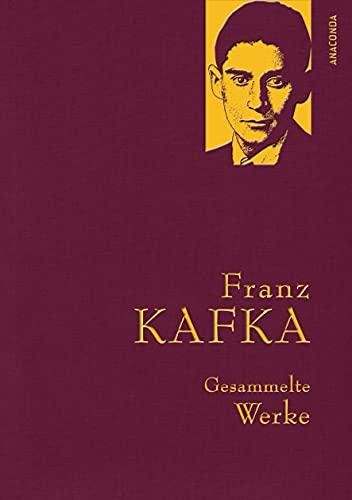 9783866478497: Franz Kafka - Gesammelte Werke (Iris®-LEINEN mit goldener Schmuckprägung)