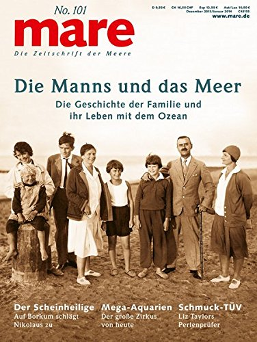 9783866480346: mare No. 101 Die Manns und das Meer