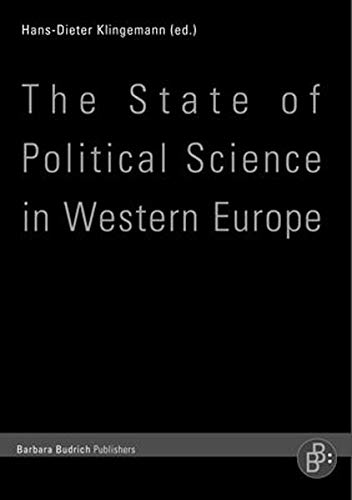 9783866490451: The State of Political Science in Western Europe