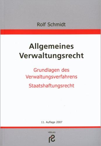 9783866510302: Allgemeines Verwaltungsrecht
