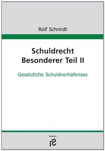 9783866511187: Schuldrecht Besonderer Teil II
