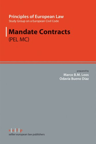 9783866530522: Mandate Contracts