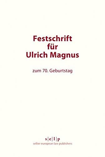9783866532694: Festschrift für Ulrich Magnus: zum 70. Geburtstag