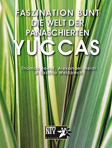 9783866591585: Faszination bunt - Die Welt der panaschierten Yuccas