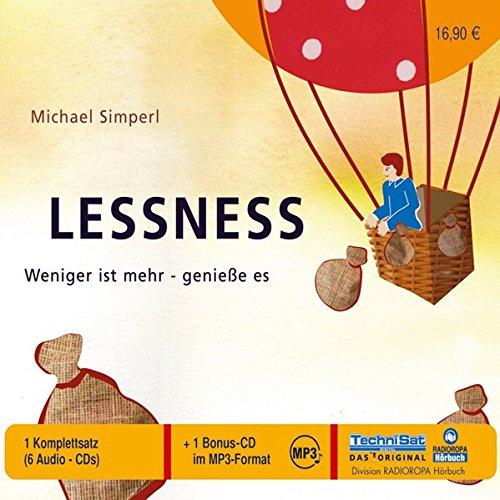 9783866671997: Lessness. 6 CDs + mp3-CD . Weniger ist mehr - geniesse es