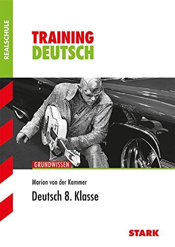 9783866681934: Training Grundwissen Deutsch 8. Klasse Realschule