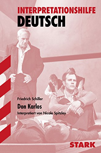 9783866682078: Don Karlos. Interpretationshilfe Deutsch