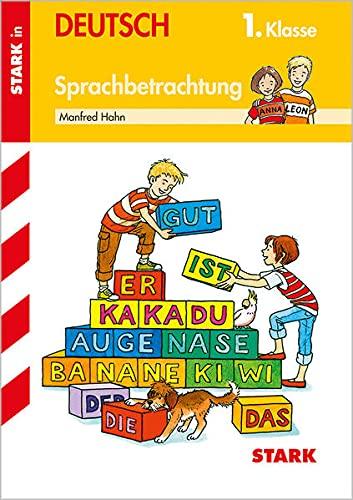 Sprachbetrachtung 1. Klasse - Manfred Hahn