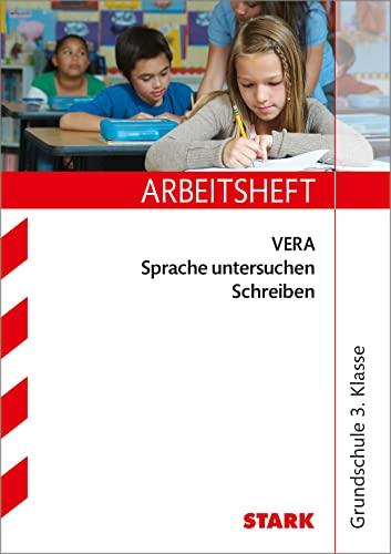 9783866683310: Arbeitsheft VERA Sprache untersuchen - Schreiben 3. Klasse