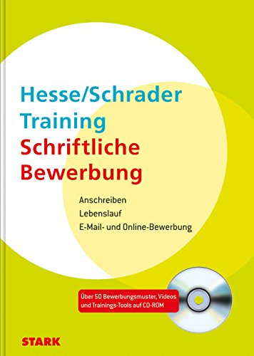 9783866683662 Hesseschrader Training Schriftliche Bewerbung
