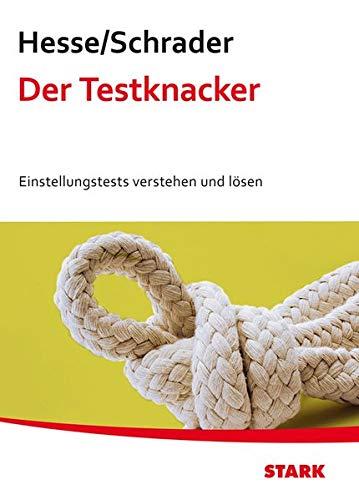 9783866684102: Testtraining / Der Testknacker: Einstellungstests verstehen und lösen