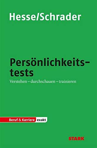 9783866684201: Testtraining Beruf & Karriere / Persönlichkeitstests: Verstehen - durchschauen - trainieren