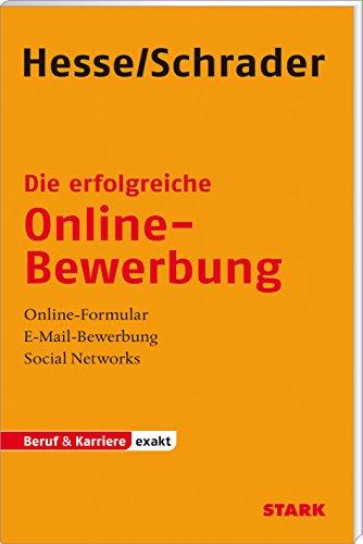 9783866684775 die erfolgreiche online bewerbung - Hesse Schrader Bewerbung