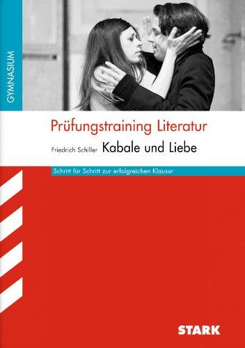 9783866686779: Pr�fungstraining Literatur / Kabale und Liebe