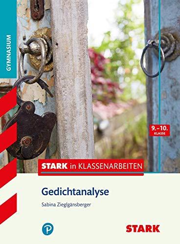 9783866688896: Stark in Klassenarbeiten - Deutsch Gedichtanalyse 9./10. Klasse Gymnasium