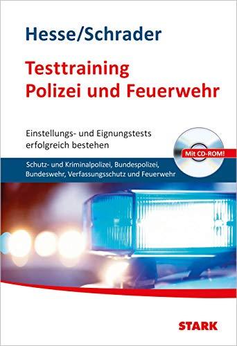 9783866689626: Bewerbung Beruf & Karriere / Testtraining Polizei und Feuerwehr; Einstellungs- und Eignungstests erfolgreich bestehen