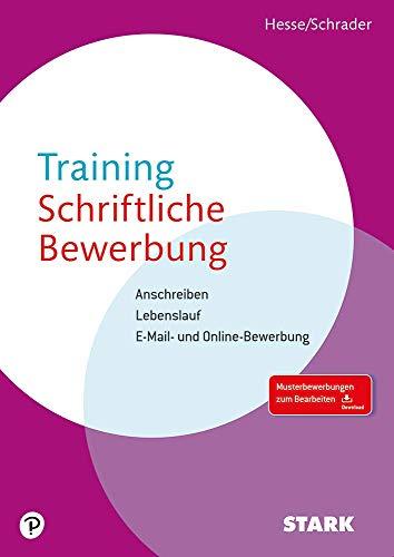 9783866689770 Hesseschrader Training Schriftliche Bewerbung