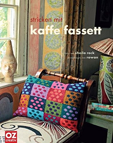 Stricken mit Kaffe Fassett (3866730799) by Kaffe Fassett